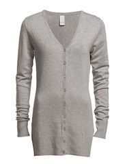 Vila rob long v-neck cardigan