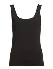 SURFACE U-NECK TANK TOP - New Black