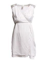 TRIXI DRESS - WHITE