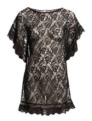 NICE LACE TUNIC 1 - BLACK