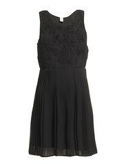 GUDRUN DRESS/MS - BLACK