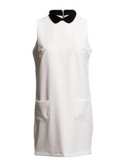 DAWNI MINI DRESS E - WHITE