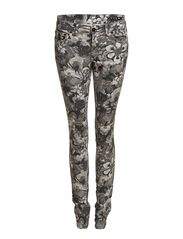 Vila FILIPI LOW SLIM FLORAL JEANS