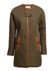 EXHIBITION PADDED JACKET - IVY GREEN