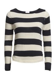 Vila DIEGO STRIPE KNIT TOP