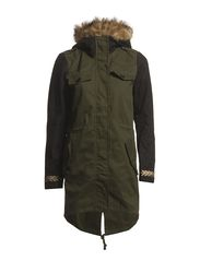 ZETA PARKA COAT - IVY GREEN