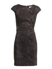 HALIS DRESS - Choal Grey