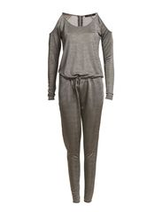 MASAN JUMPSUIT - Light Grey Melange