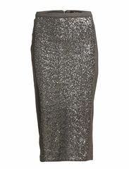 RELAMA SKIRT - Dark Grey Melange