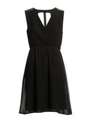 ANVI DRESS/PB - Black