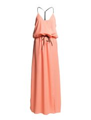 CLOTTY DRESS - Neo Coral