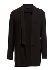 LEIA LONG BLAZER - Black