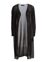 MANSI NEW LONG CARDIGAN - Black