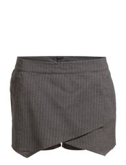 STRIPS SHORTS - Medium Grey Melange