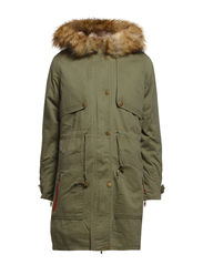 FRUMPY PARKA COAT - Ivy Green