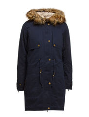 FRUMPY PARKA COAT - Total Eclipse