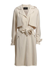 FINERY TRENCHCOAT - Sandshell