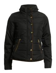 LONAR PADDED JACKET SPRING - Black