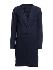 PERCILLA LONG COAT - Total Eclipse