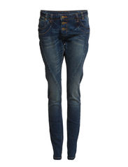 CILA BOYFRIEND JEANS HK0004 - Dark Blue Denim