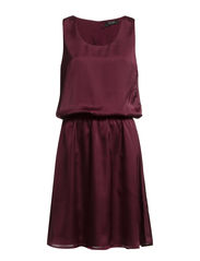 DESMINA SATIN DRESS/KA - Winetasting
