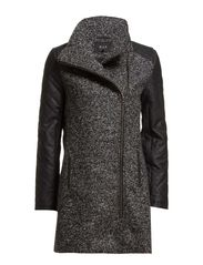 KENDRA SALT COAT1 - Black