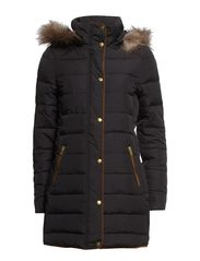 LONAR DOWN COAT - Black