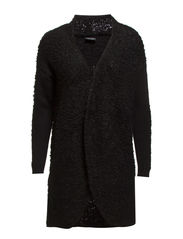 HILLING KNIT CARDIGAN - Black
