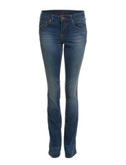 CHILL 5P SKINNY BOOTCUT HK0025 DB - Dark Blue Denim
