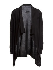 THIN KNIT CARDIGAN/1 - Black