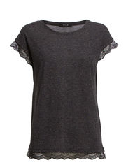 VIMERRO JERSEY TOP - Dark Grey Melange
