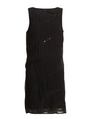 VIRESISTENS S/L DRESS - Black