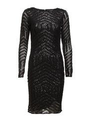 VIBLACKGLAM DRESS - Black