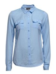 VIDENSY SHIRT - Blue Fog