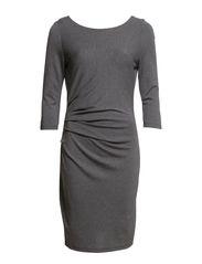 VIGIOLI DRESS#G - Medium Grey Melange