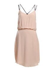 VISENSA STRAP DRESS - Cameo Rose