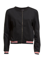 VIACE BOMBER JACKET - Black