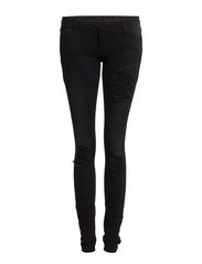 VILUCY 5P SKINNY HK0031 DESTROYED - Black