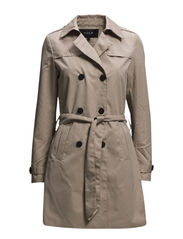 VISHINA LONG TRENCHCOAT - Soft Camel