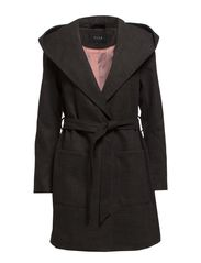 VIZENZA COAT - Dark Grey Melange
