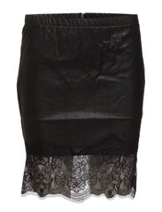 VINOMAI LACE SKIRT - Black