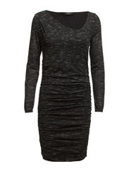 VIASTA L/S DRESS - Black