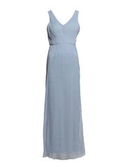 VIGATSBY MAXI DRESS - Blue Fog