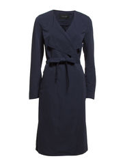 VIKALU LONG COAT - Total Eclipse