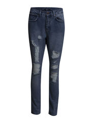 VICIPPA BOYFRIEND JEANS T002 - Medium Blue Denim