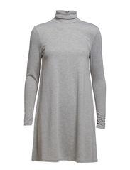 VIVANG DRESS - Light Grey Melange