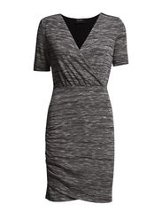VITRINA DRESS - Light Grey Melange