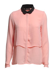 VIPENNA L/S SHIRT - Apricot Blush