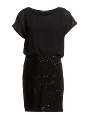 VIGLITA DRESS - Black