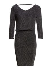 VIGLITSAY SLEEVE DRESS - Black